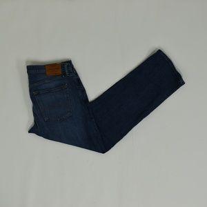 Lucky Brand Regular 34 Blue 34x30 221 Straight Cot